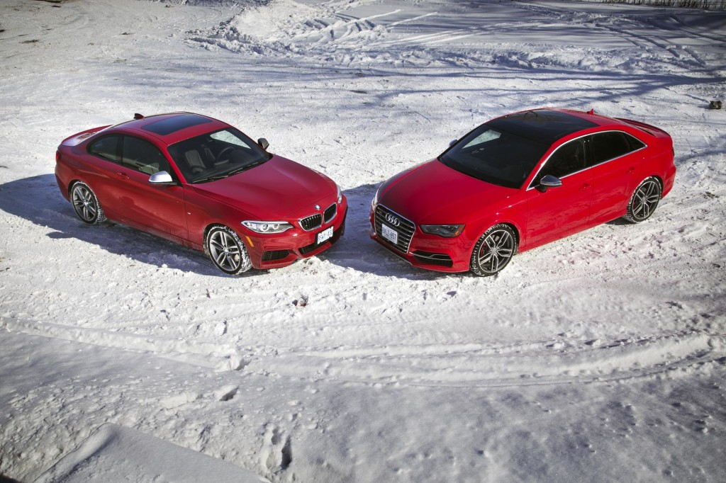 BMW M235i vs Audi S3