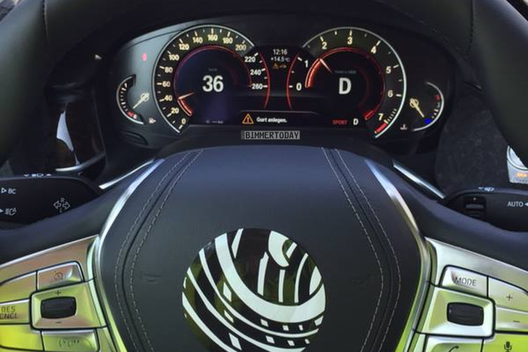BMW Serie 7 G11 Interiors