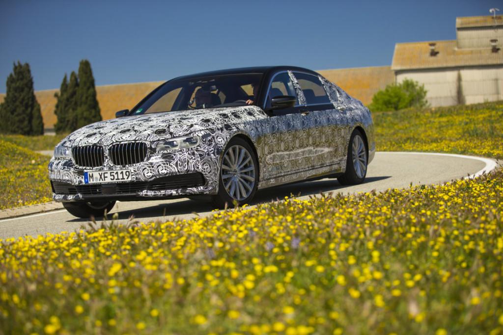 BMW Serie 7 G11 Spy