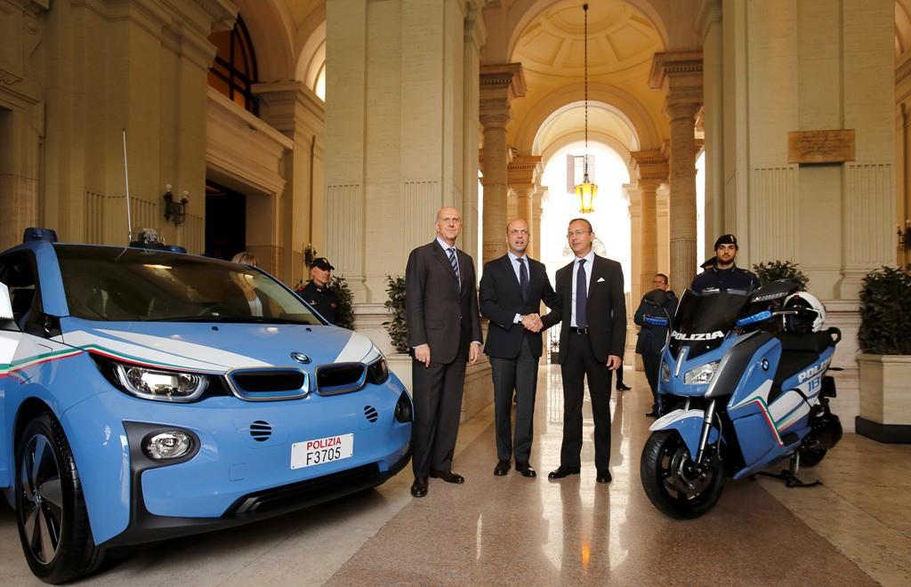 BMW i Polizia di Stato