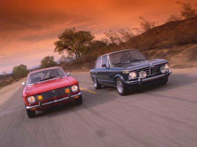 BMW  Alfa Romeo Vintage