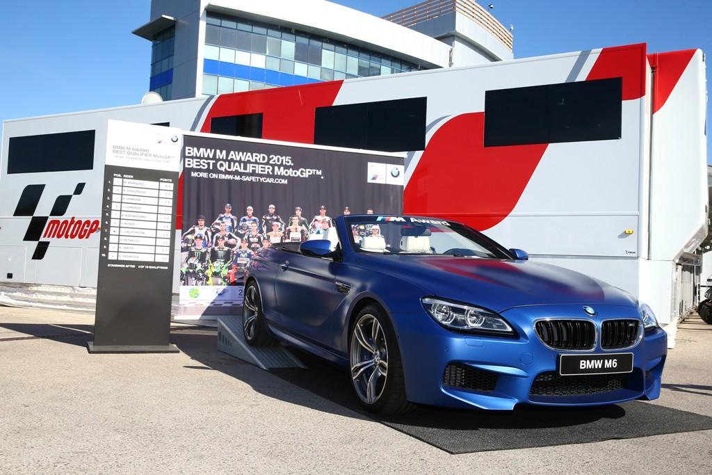 BMW M6 Cabrio M Award MotoGP
