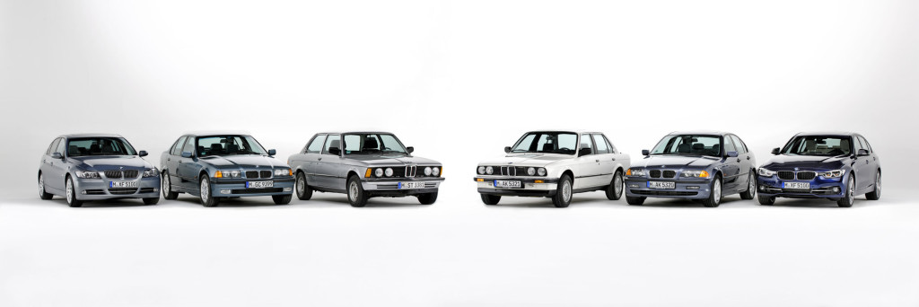 BMW Serie 3 40th Story