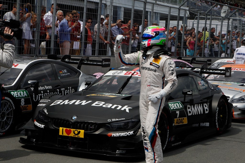Bruno Spengler pole Norisring BMW Bank Winter Challenge