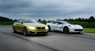 BMW M4 vs Corvette Stingray