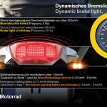 Dynamic brake lights
