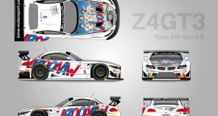 BMW Z4 GT3 SPA