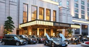 BMW i8 the Peninsula Hotel