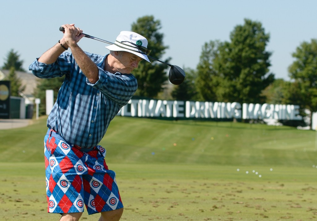 Bill Murray al Gardner Heidrick Pro-Am. ©