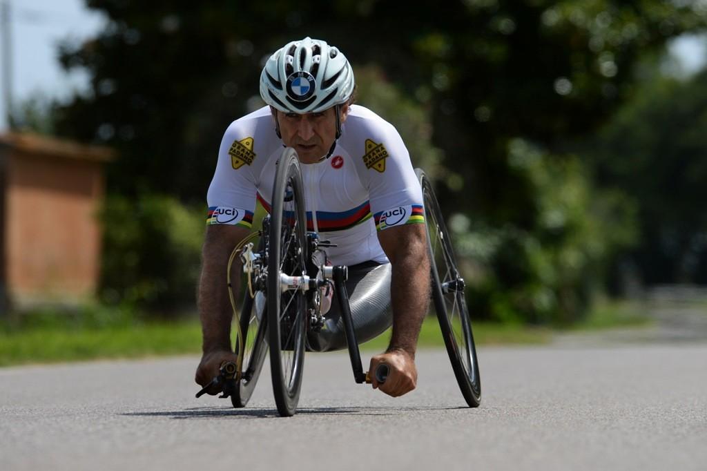 Alex Zanardi Triathlon Kona 2014