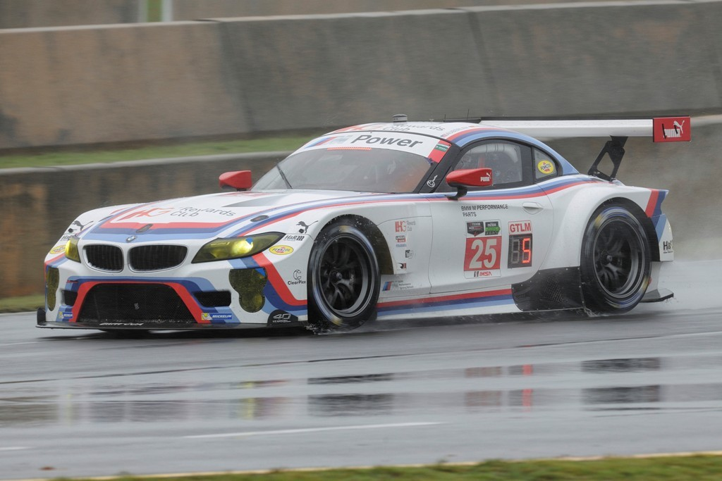 BMW Team RLL BMW Z4 GTLM Petit Le Mans Road Atlanta USCC 2015