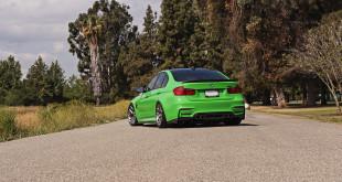 BMW M3 Signal Green