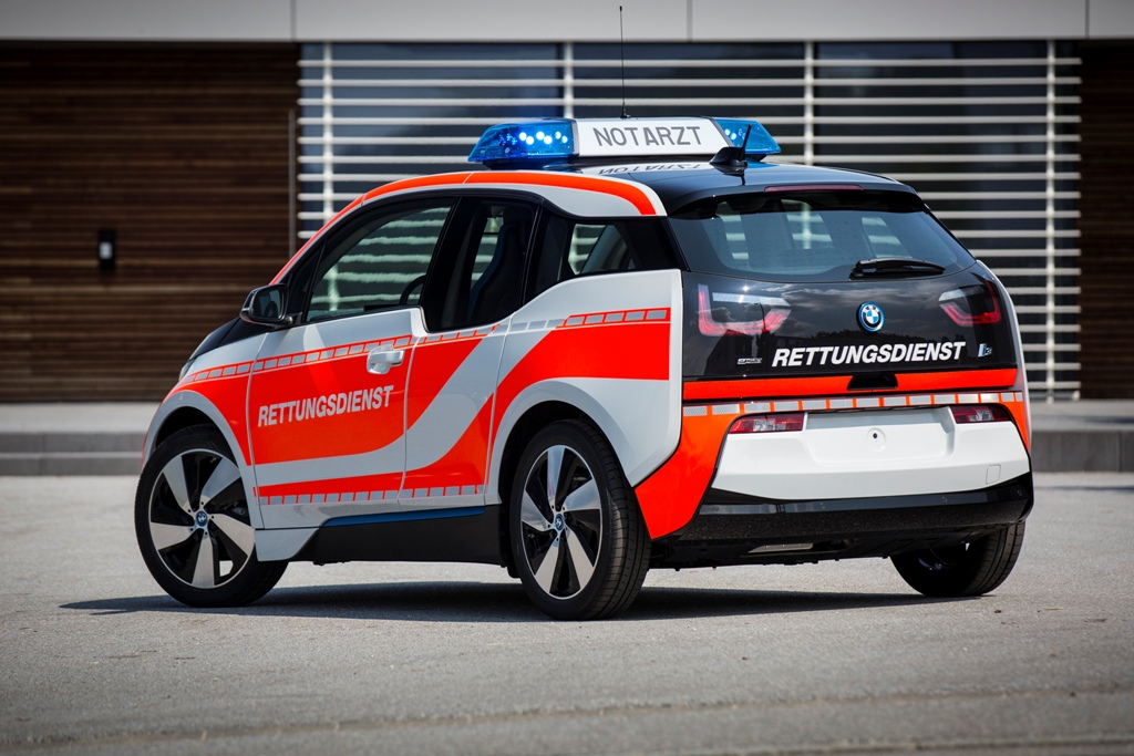 bmw i3 polizia pronto soccorso e vigili del fuoco la. Black Bedroom Furniture Sets. Home Design Ideas