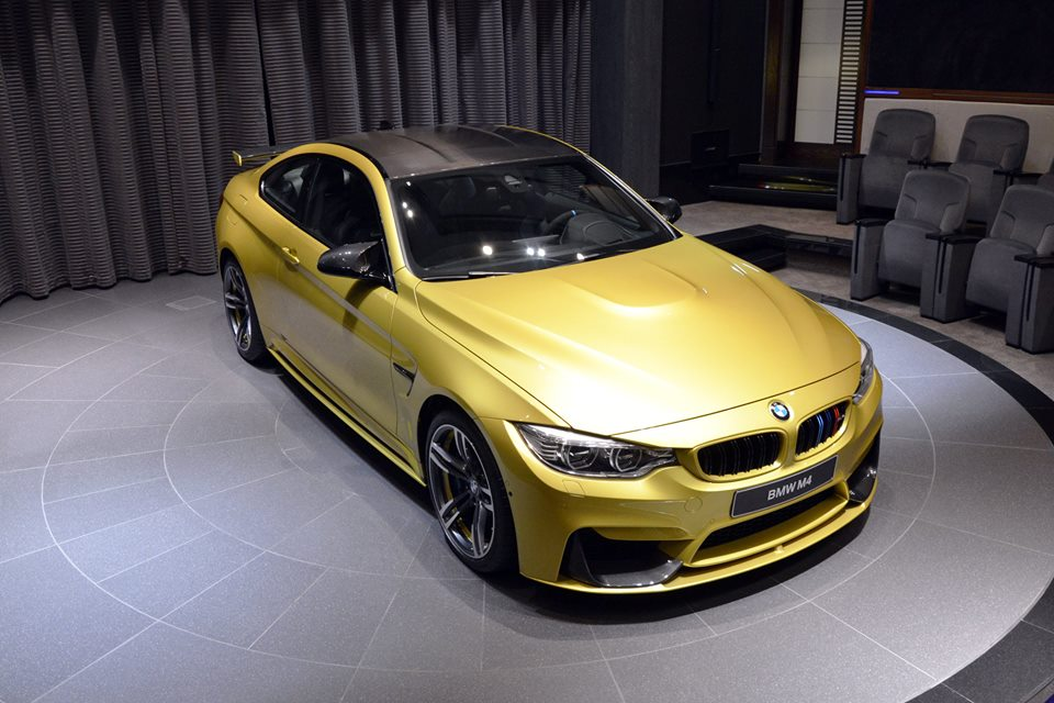 BMW M4 M Performance Parts Austin Yellow