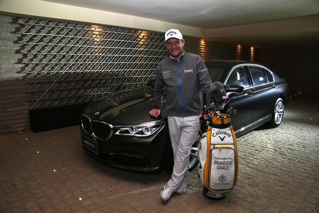 BMW Branden Grace Ambassador Golfsport