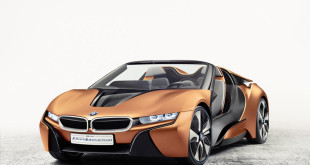 BMW i Vision Future Interaction BMW i8 Spyder