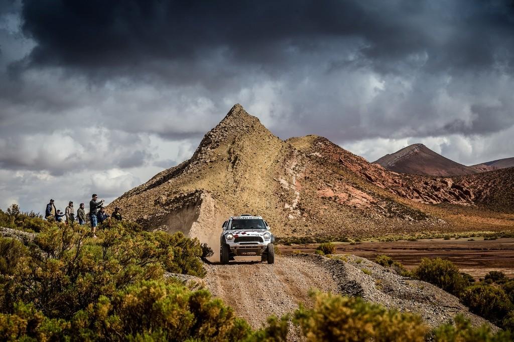 MINI ALL4 Racing Dakar 2016