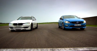 Alpina D3 BiTurbo Touring vs Volvo V60 Polestar