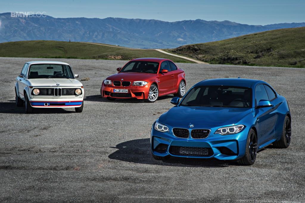 BMW 2002tii Turbo vs BMW 1M vs BMW M2
