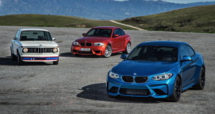 BMW 2002tii Turbo vs BMW 1M vs BMW M2