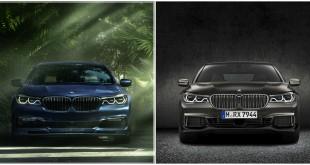 BMW M760Li xDrive vs BMW-Alpina B7