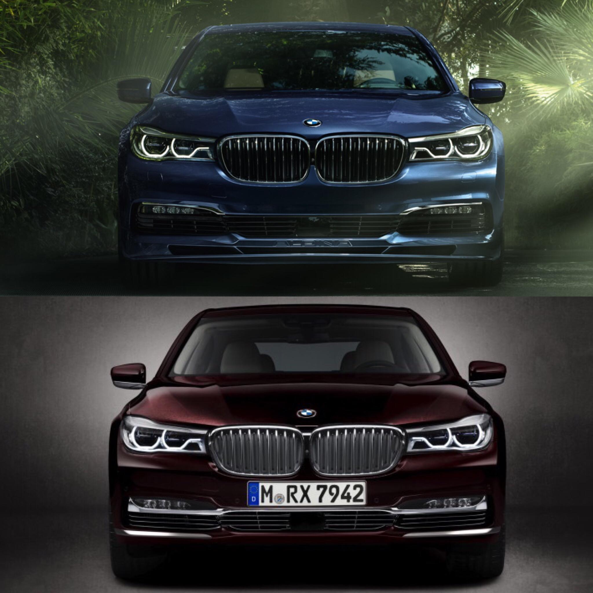 Bmw Z4 Vs Supra: BMW M760Li XDrive Vs BMW-Alpina B7