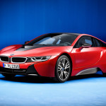 BMW i8 Red Protonic Red