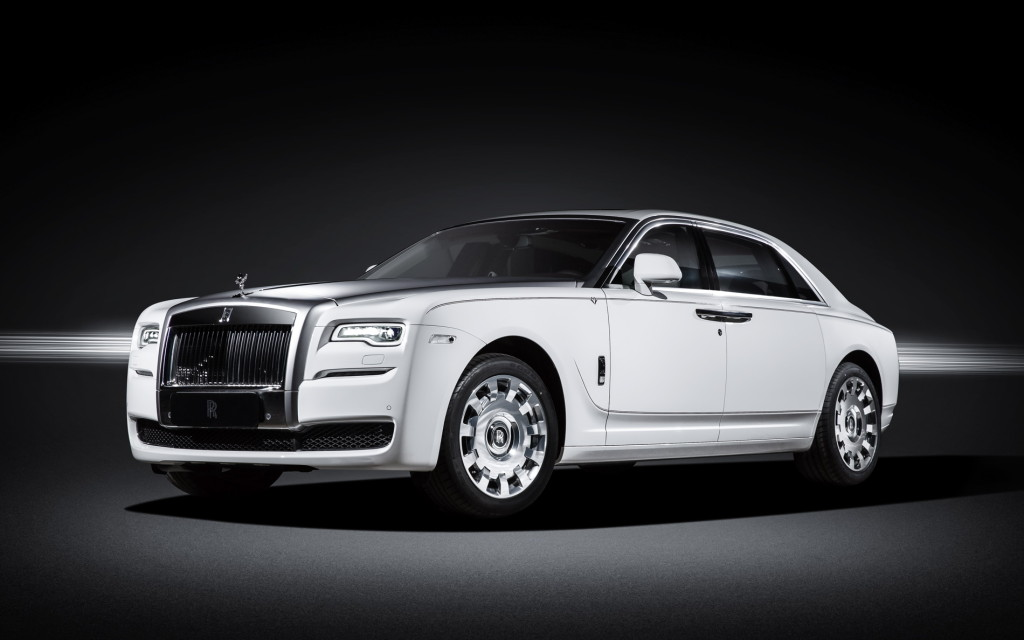 Rolls Royce Ghost Eternal Love China