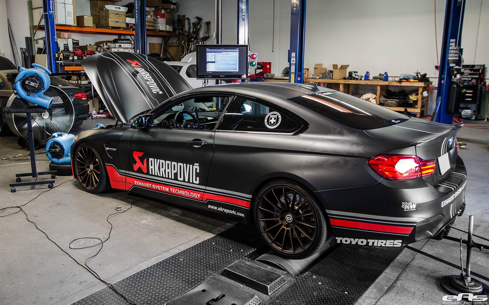 Bmw M4 Con Scarico Akrapovic Racing Che Ruggito Bmwpassion Blog