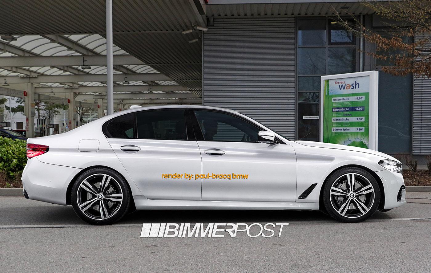 BMW Serie 5 G30: render della M-Sport - BMWpassion blog