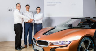 BMW Autonomous Driving Vehicle