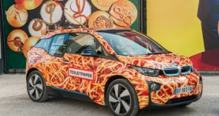 Rencontres d'Arles - BMW i3 Art Car