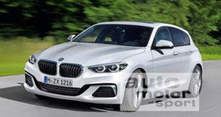 BMW Serie 1 F40 hatchback-render
