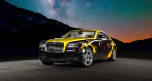Rolls Royce Wraith by Antonio Brown