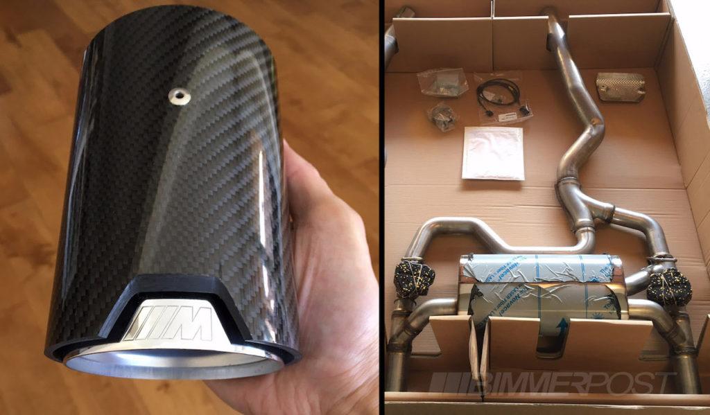 BMW M Performance Sound Kit for BMW 340i e BMW 440i