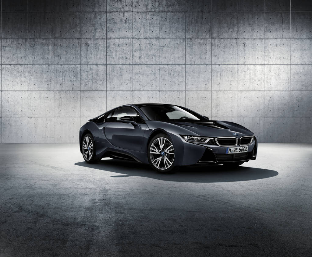 Salone dell'Auto di Parigi 2016 - BMW i8 Protonic Dark Silver Edition