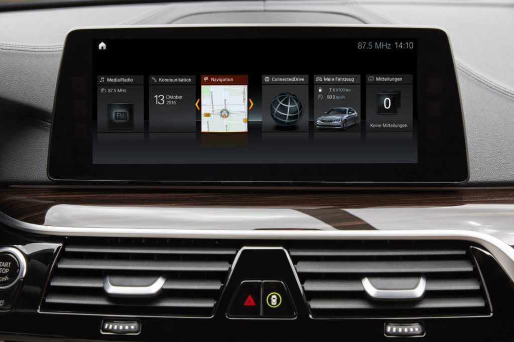 Wireless Apple CarPlay- BMW Serie 5 G30 - BMW 540i xDrive MSport