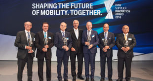 BMW Supplier Innovation Award 2016