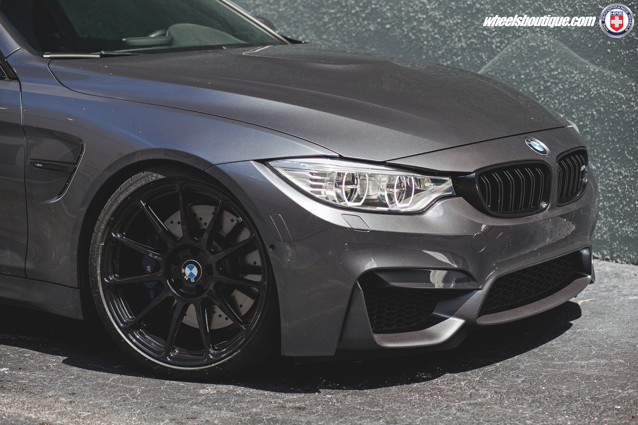 BMW M4 on HRE Wheels