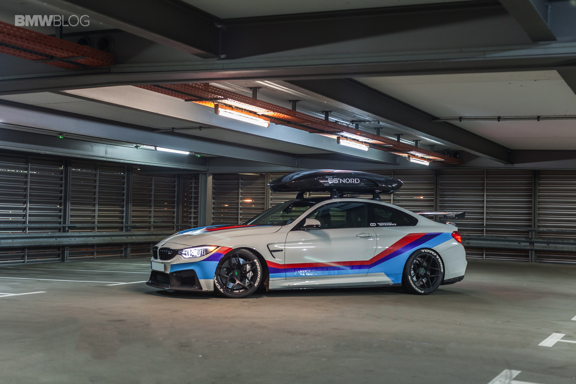 BMW M4R Coupe' F82 by Carbonfiber Dynamics
