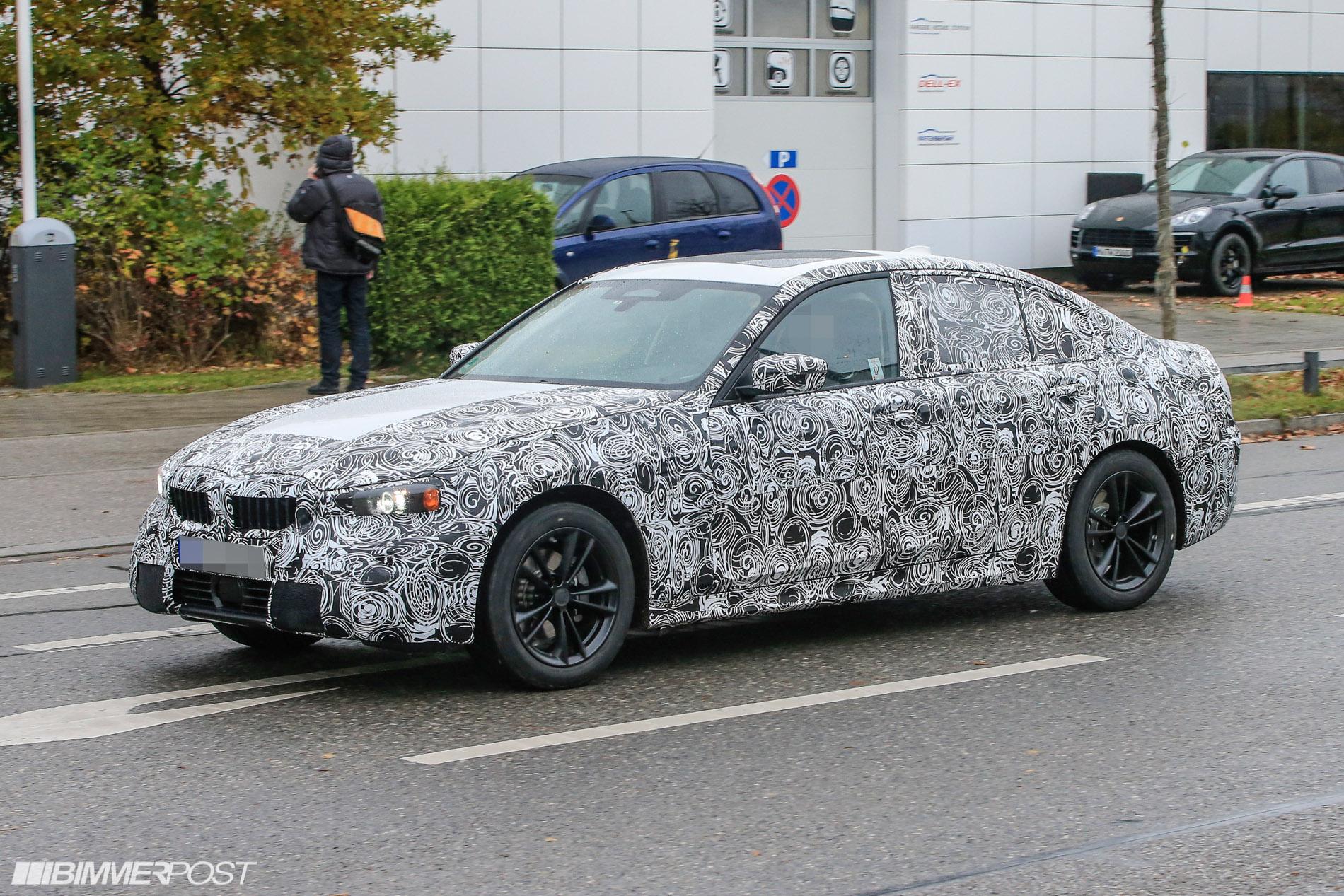 BMW Serie 3 G20 Spy