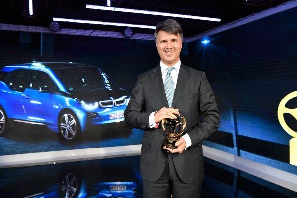 Golden Steering Wheel - BMW i3