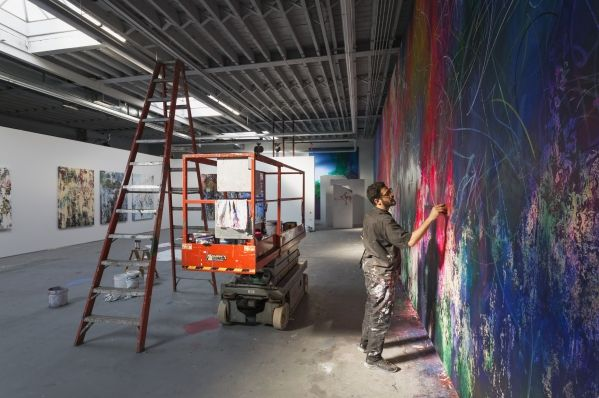José Parla - Rolls Royce Art Programme - Miami Art Basel
