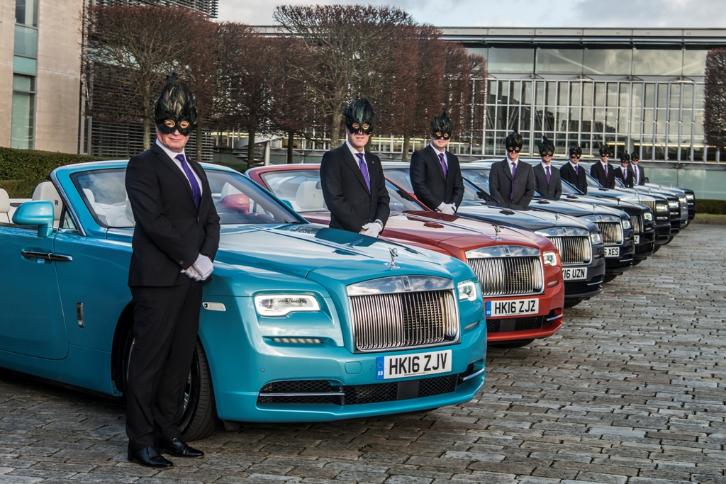 Rolls-Royce Metamorphose Chauffeur Animal Ball