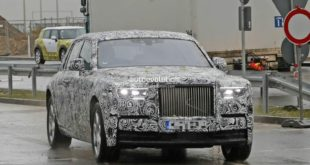 Rolls Royce Phantom VIII Spy - Phantom 2018