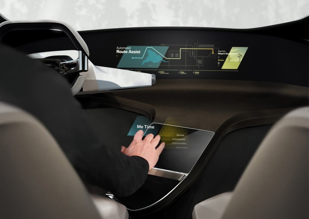 BMW HoloActive Touch - CES 2016 - BMW i Inside Future Concept