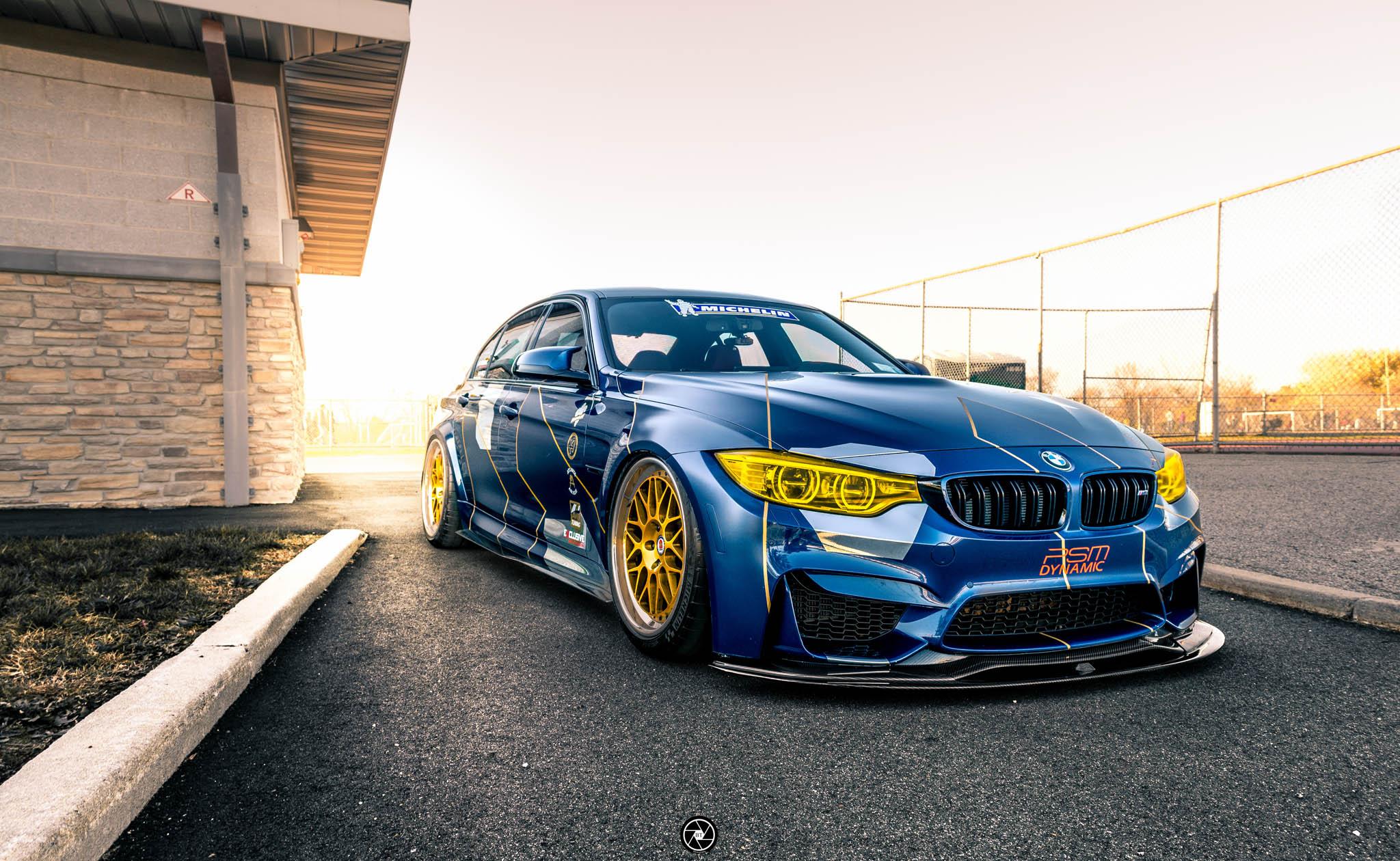 BMW M3 Race Themed - BMW M3 F80