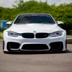 BMW M4 Alpine Widebody Kinetik Vossen Wheels