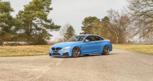 BMW M4 Yas Marina Blue - ADV.1 Wheels