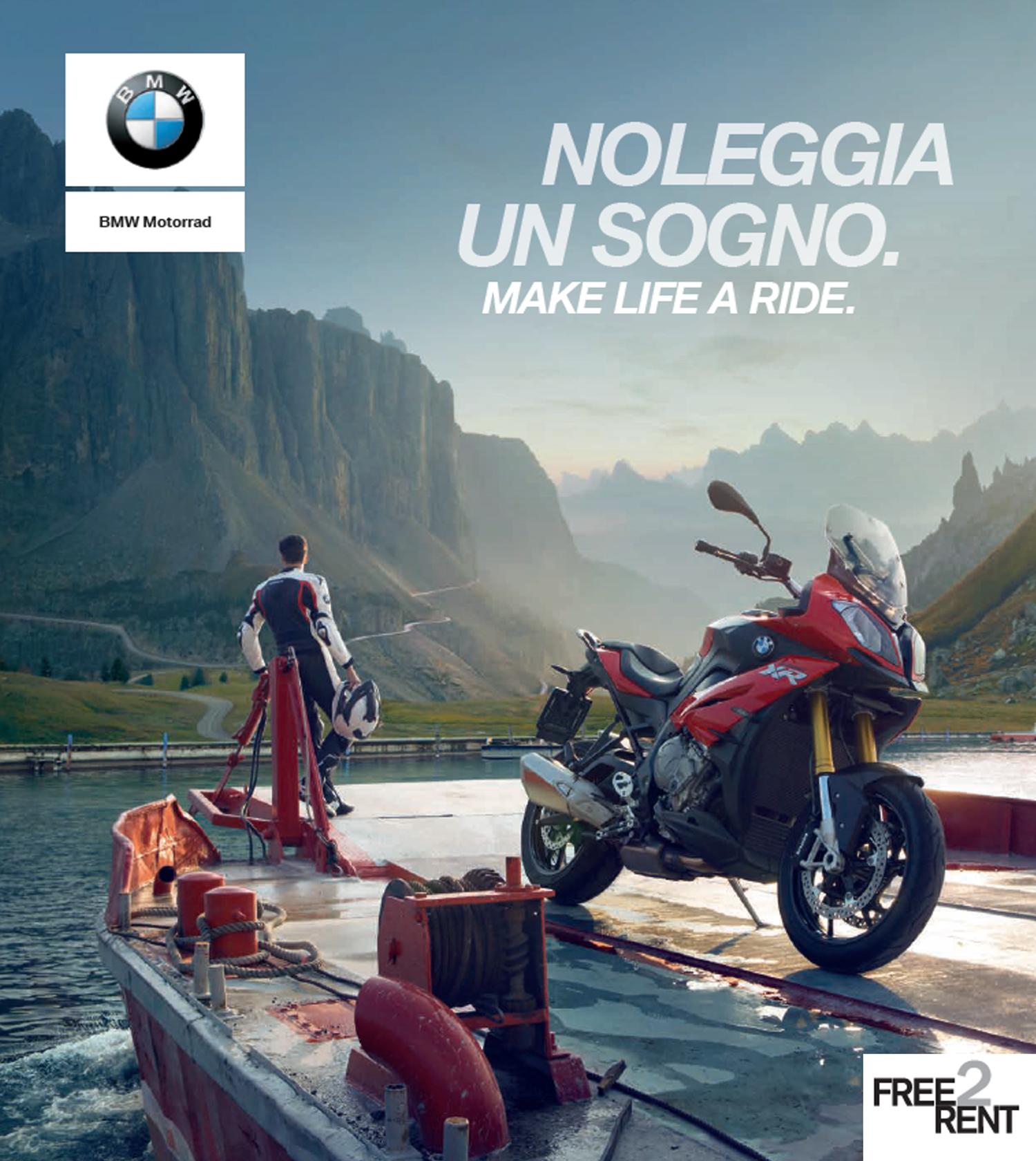 Free2rent Il Nuovo Servizio Nbt Di Bmw Motorrad